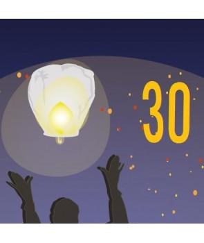 Pack de 30 lanternes