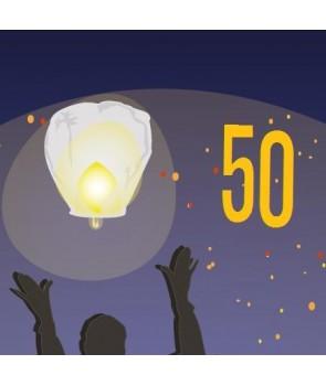 Pack de 50 lanternes