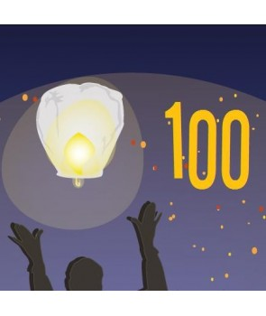 Pack de 100 lanternes