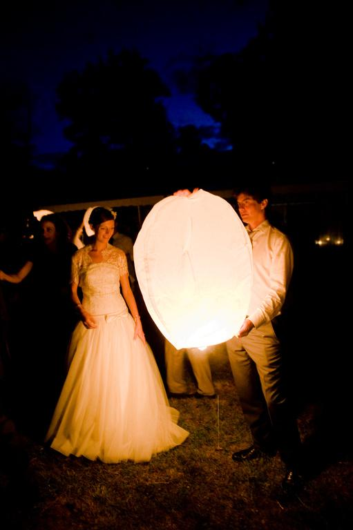 lacher de lanternes volantes
