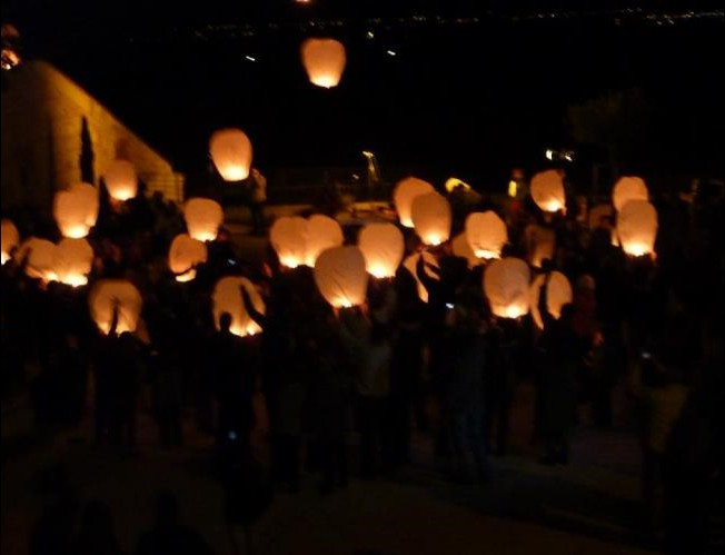 1001lanternes lanterne volante écologique SANS métal