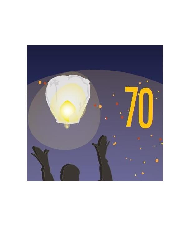 Pack de 70 lanternes