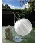 Lanterne solaire Blanche