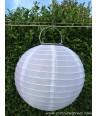 Lanterne solaire jardin Blanc