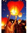 Lanterne volante coeur